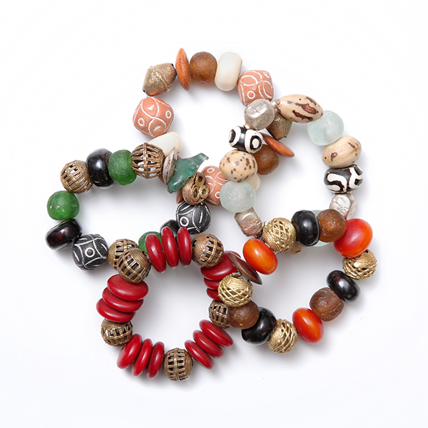 African Traditional Chunky Bracelets