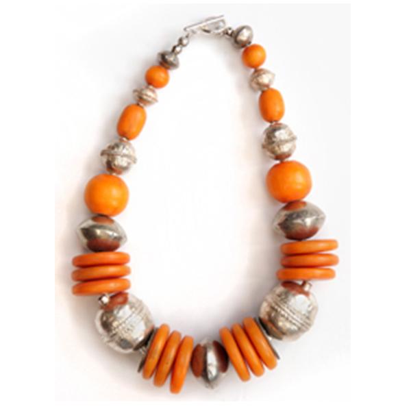 Gorgeous Gorgeous 4 - Touareg Silver & Kenyan Amber