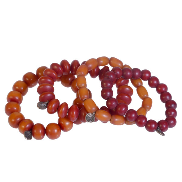 African Traditional Amber Bracelets (NEW)